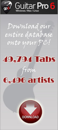 guitar tabs guitar pro: