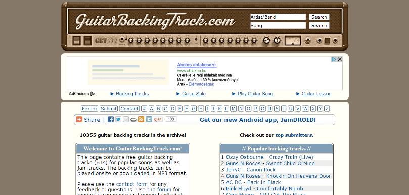 GuitarBackingTrack.com