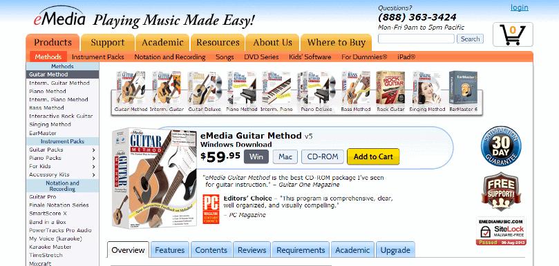 eMedia Beginning Guitar Method