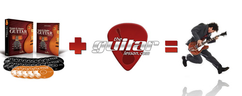 Learn and Master + TheGuitarLesson = You ROCK!!!