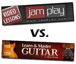 Jamplay vs Learn and Master Guitar