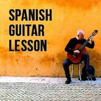 Spanish guitar lesson