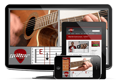 TheGuitarLesson.com is now mobile compatible