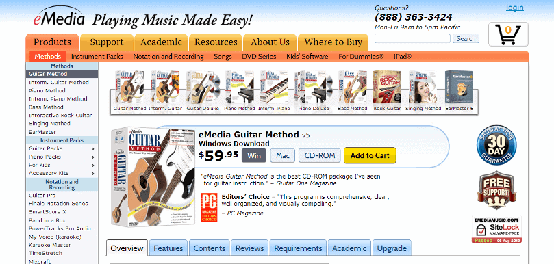 eMedia Beginning Guitar Method