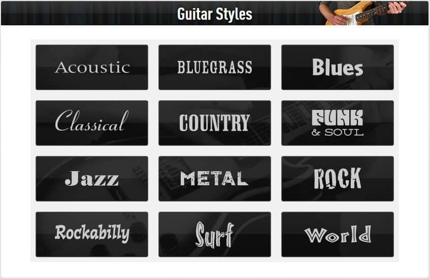 guitartricks-review-genres