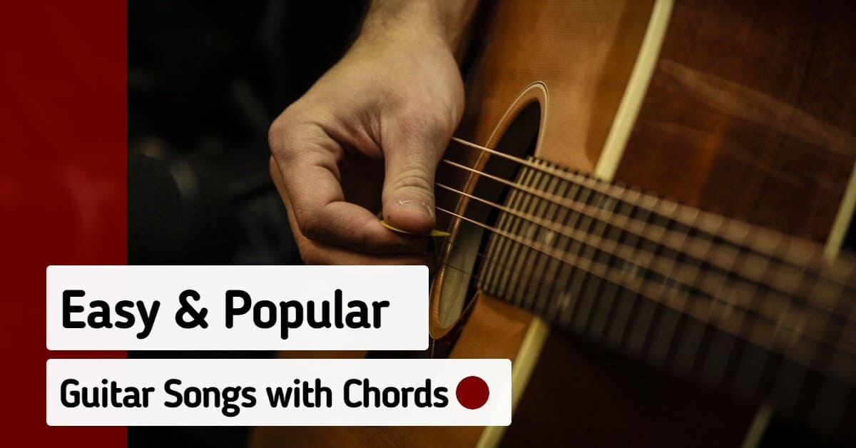 Easy Guitar Chord Songs Beginners