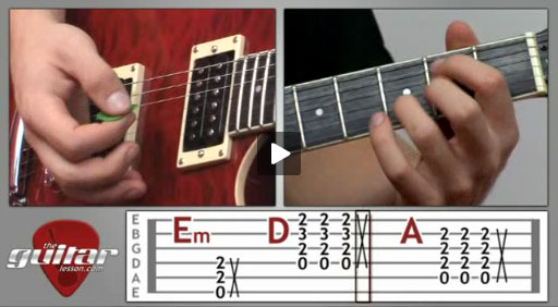 Back in Black Guitar Lesson - AC/DC - TheGuitarLesson.com