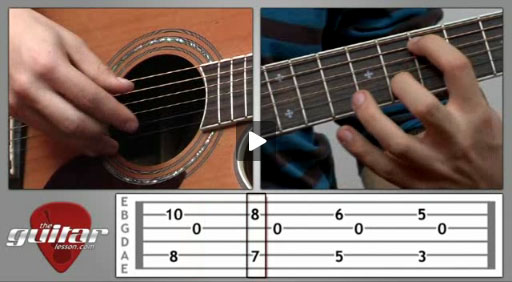 Blackbird Guitar Lesson - The Beatles - TheGuitarLesson.com