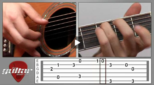 Greensleeves Guitar Lesson - TheGuitarLesson.com