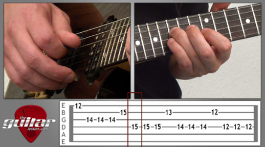 Hyteria Guitar Lesson - Muse