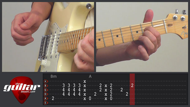She Will Be Loved Guitar Lesson - Maroon 5 - TheGuitarLesson.com